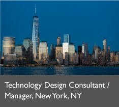 Technology Design Manager, NY