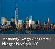 Technology Design Manager, NY