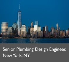 Senior Plumbing Design Engineer, New York, NY